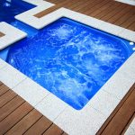 Large Fiberglass Pool ACt