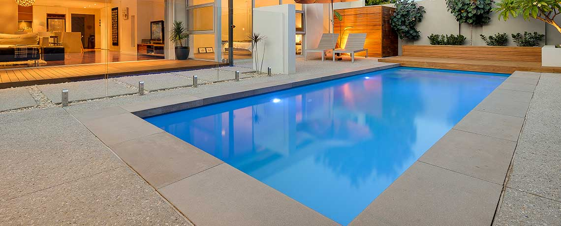 Large Concrete Pools ACT
