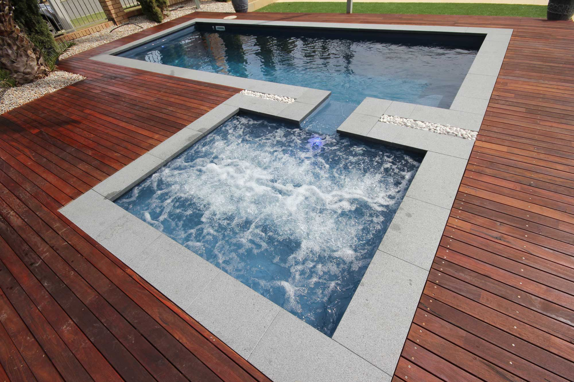 Large Fiberglass Pool Canberra